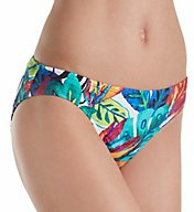 Lauren Ralph Lauren Rainforest Hipster Brief Swim Bottom LR7DJ93