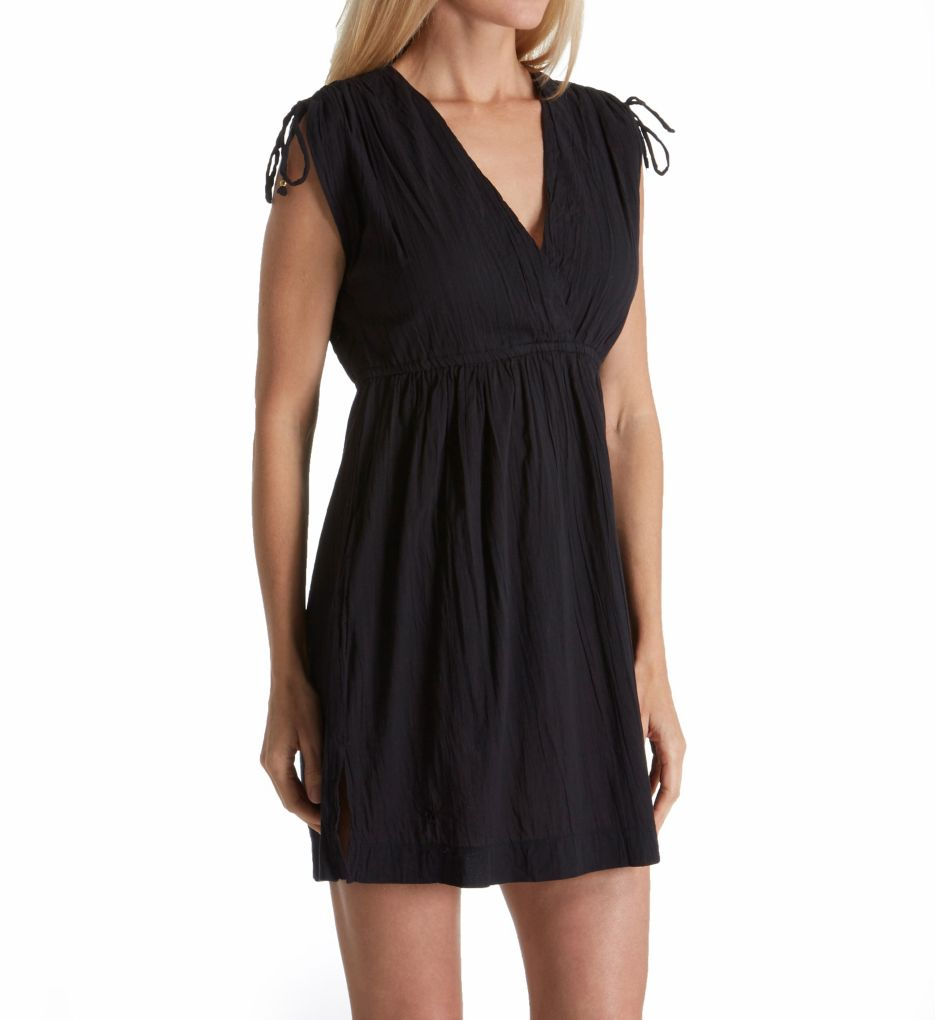 Lauren Ralph Lauren Crushed Cotton Farrah Dress Cover Up LR7DL31