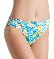 Lauren Ralph Lauren Carnivale Paisley Hipster Swim Bottom LR7DV93