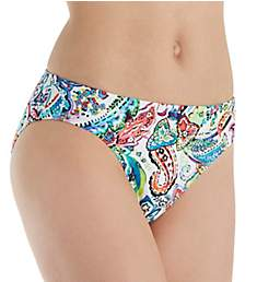 Lauren Ralph Lauren Cabana Paisley Hipster Swim Bottom LR8FP93
