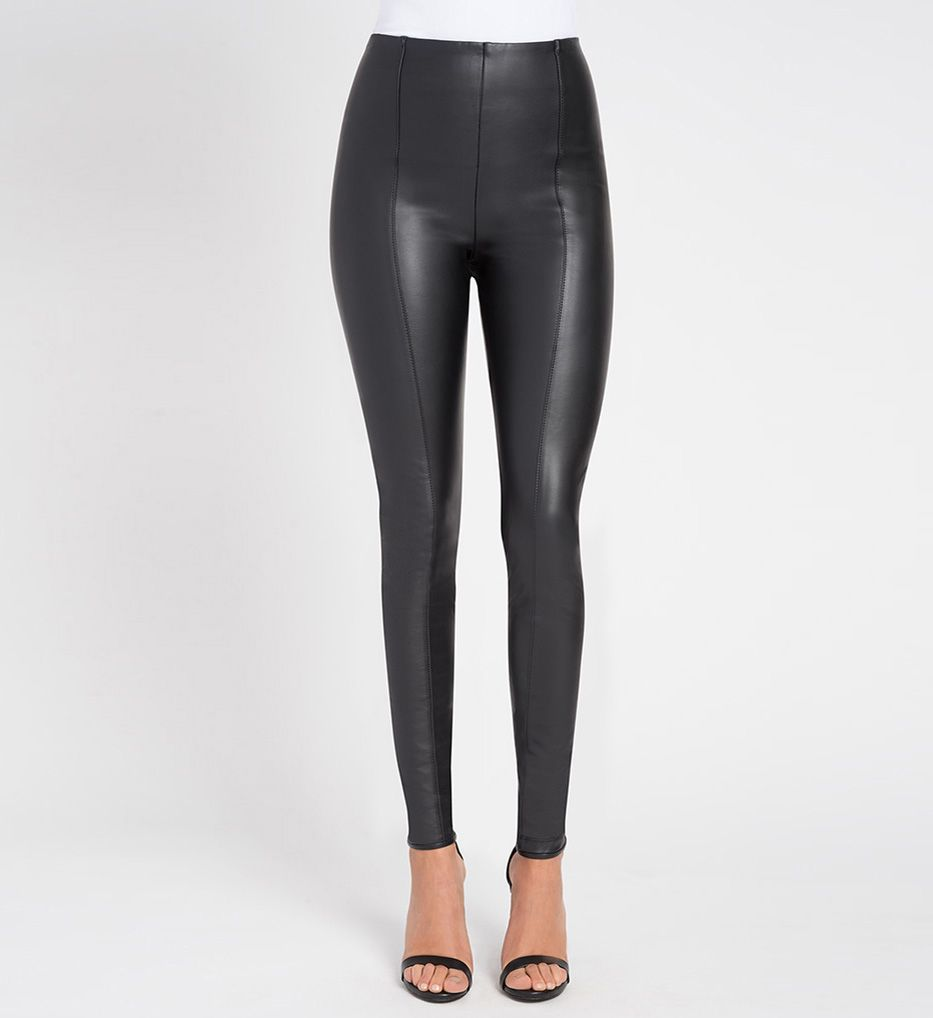 Lysse Leggings High Waist Vegan Leather Legging 1379