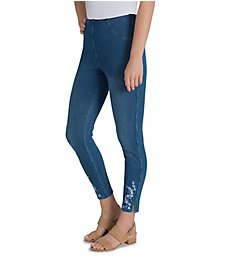 Lysse Leggings Cooper Denim Legging with Slits 1862