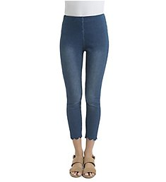 Lysse Leggings Scallop Edge Denim Legging 1923