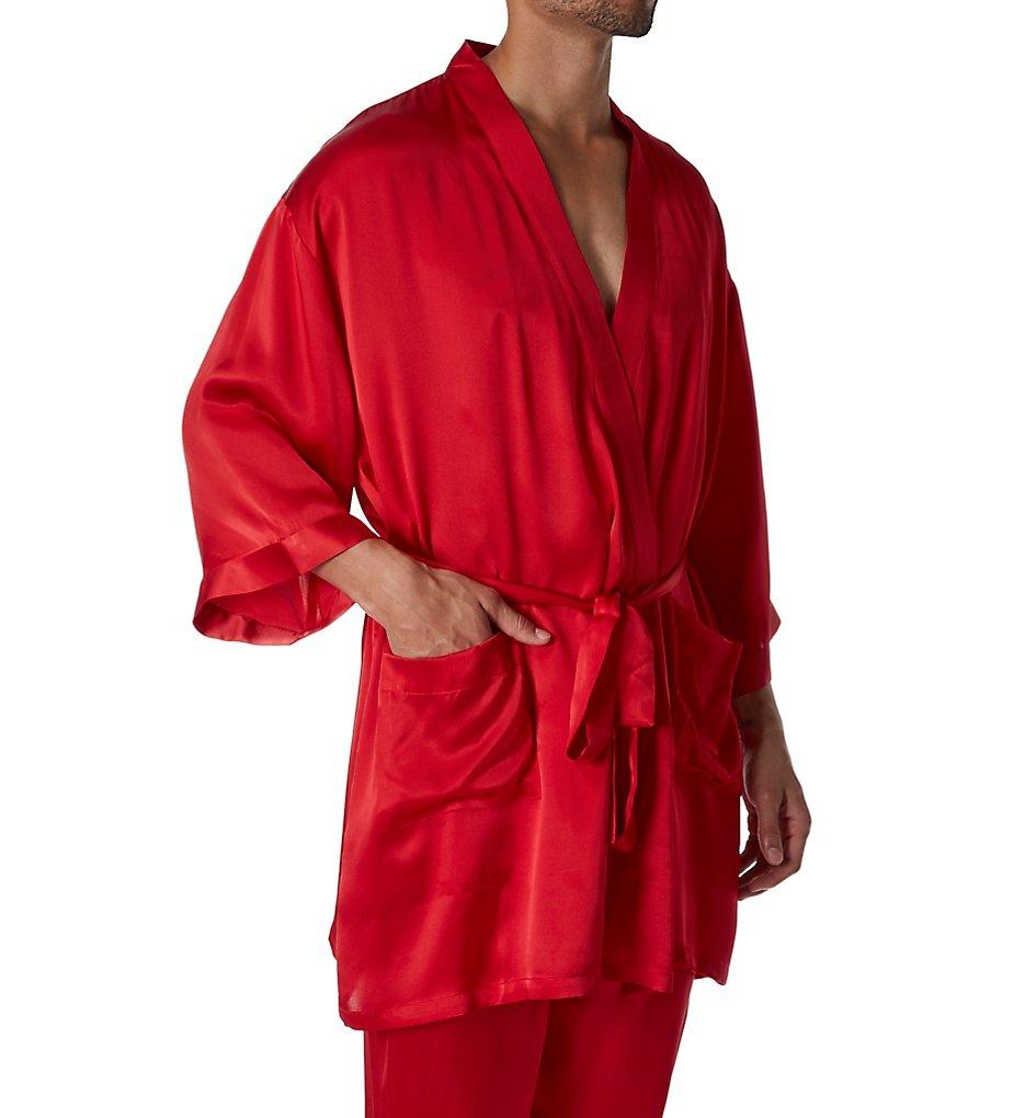 Magic Silk Silk Charmeuse Kimono Robe 2604
