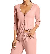 Maidenform Lace Trim PJ Set MFF7840