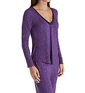 Maidenform Satin V Neck PJ Set MFF7851