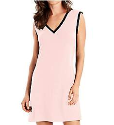 Maidenform Wildly Classic Satin Trim V-Neck Sleepshirt MFS7300