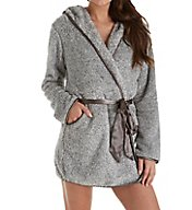 Maidenform Prima Ballerina Plush Short Robe MFW7452