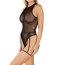 Mapale Bodysuit With Garter Belt Set 2636
