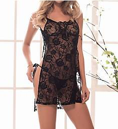Mapale Open Side Babydoll with G-String 7193