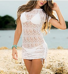 Mapale Crochet Beach Dress Cover Up 7723