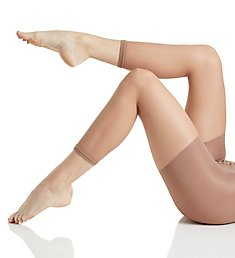 MeMoi Shaper Sheer Footless Capri Tights MM-226