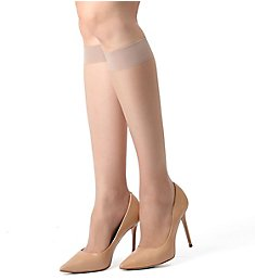 MeMoi Crystal Sheer Knee High MM-410