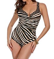 Miraclesuit Opposites Attract Underwire One Piece Swimsuit 6502166