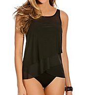 Miraclesuit Solid Mirage Underwire Tankini Swim Top 6503041