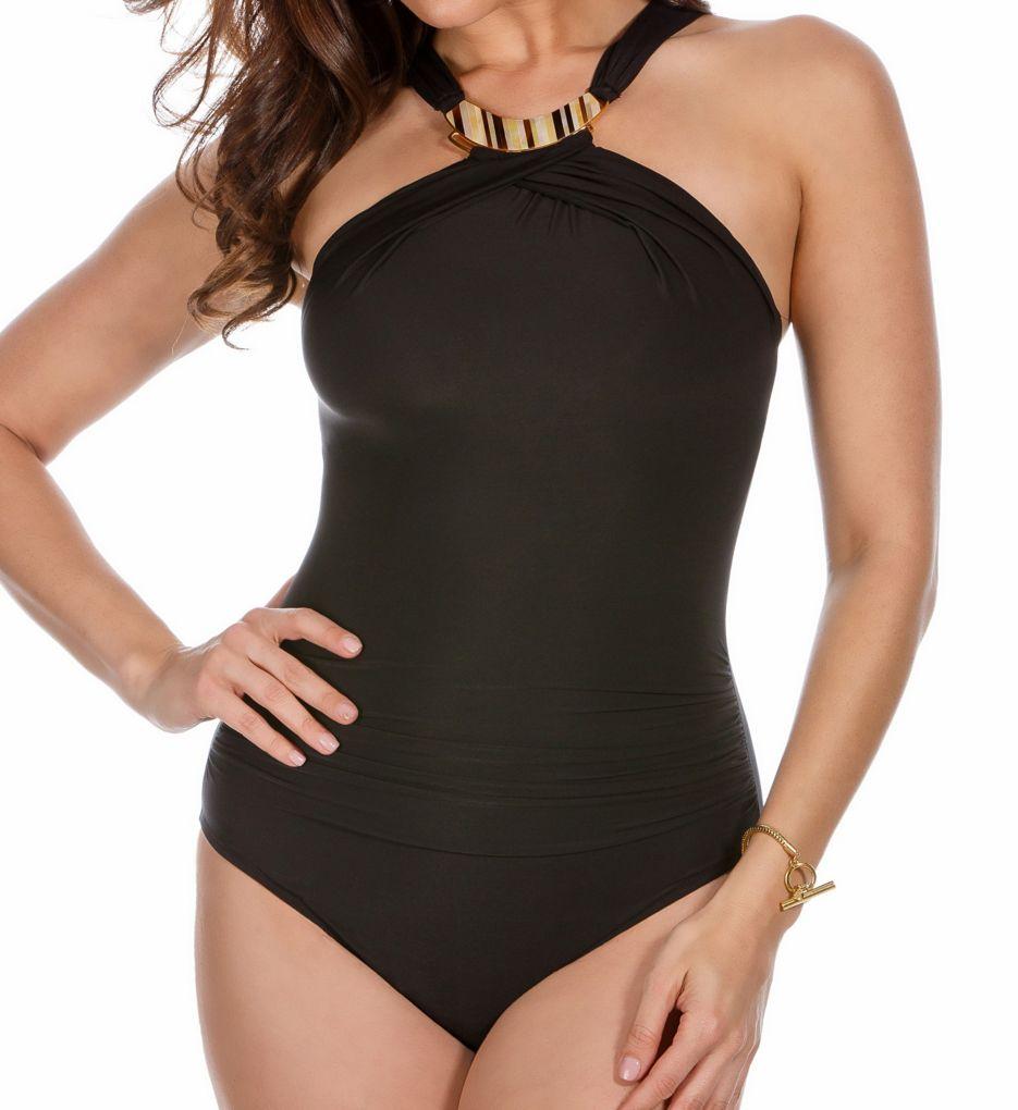 Miraclesuit Solid Bijoux Wireless One Piece Swimsuit 6503083
