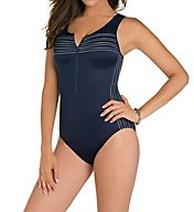Miraclesuit Sports Page Speed Shelf Bra One Piece Swimsuit 6503112