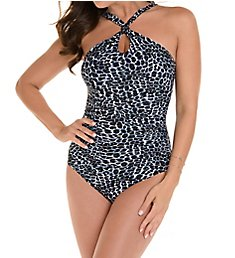 Miraclesuit Luxe Leopard Glitz One Piece Swimsuit 6511514