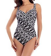 Miraclesuit Tiki Sanibel Underwire One Piece Swimsuit 6511963