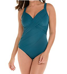 Miraclesuit New Revelations Underwire One Piece Swimsuit 6513019