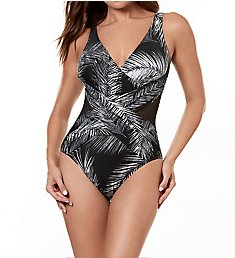Miraclesuit Night Flight Crossover Wireless One Piece Swimsuit 6518389