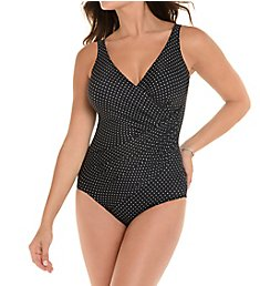Miraclesuit Must Haves Pin Point Oceanus One Piece Swimsuit 6518588