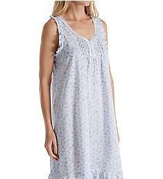 Miss Elaine 100% Cotton Woven Chemise 224707