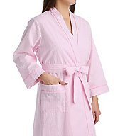 Miss Elaine Cotton Woven Robe 308705