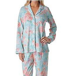 Miss Elaine Cottonessa Long Sleeve Pajama Set 427807