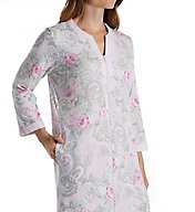 Miss Elaine Cottonessa Long Sleeve Long Zip Robe 662816
