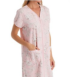 Miss Elaine Terry Short Zip Front Robe 848029
