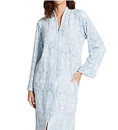 Miss Elaine Luxe Fleece Long Zip Robe 866531