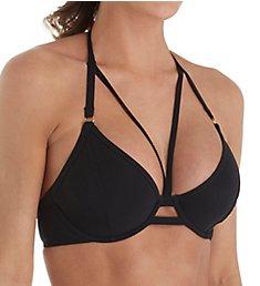 Miss Mandalay Icon Underwire Halter Strappy Bikini Swim Top IC02UH