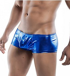 MOB Eroticwear Mirror Metallic Boy Short MBL42