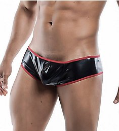 MOB Eroticwear Mirror Metallic Cheeky Low Cut Brief MBL44