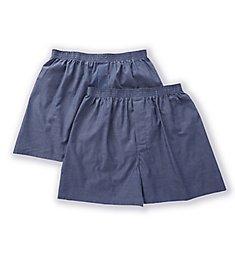 Munsingwear Woven Cotton Boxer - 2 Pack KNOMW579