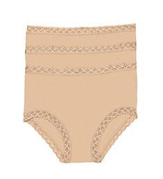 Natori Bliss Full Brief Panty - 3 Pack 755058P