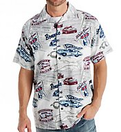 Newport Blue GM High Speed Race Button Down Shirt W162554