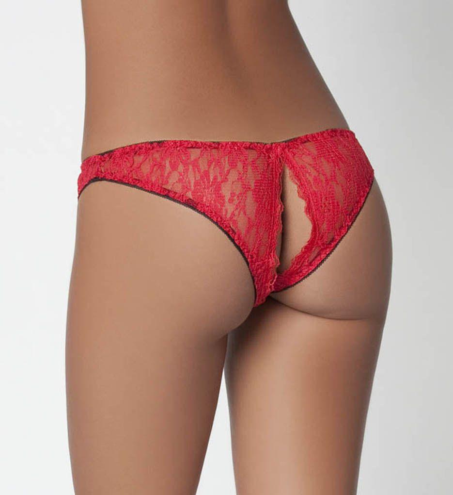 Oh La La Cheri Open Back Crotchless Panty 1449