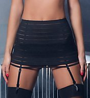 Oh La La Cheri Bandage Skirt with Garter and G-String 4205