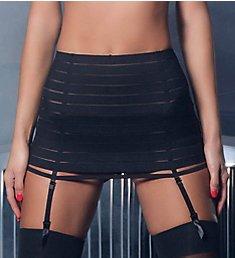 Oh La La Cheri Bandage Skirt with Garter and G-String 4205