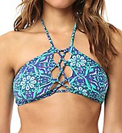 O'Neill Majestic High Neck Halter Swim Top 6474071