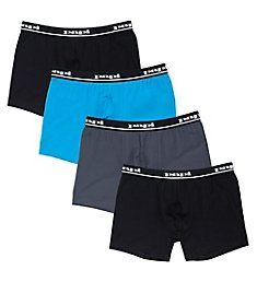 Papi Repeat Logo Cotton Stretch Boxer Briefs - 4 Pack 990001