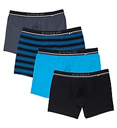 Papi Cotton Stretch Boxer Briefs - 4 Pack 990005