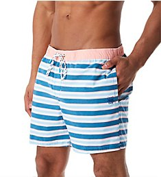 Party Pants Kennedy Stripe Swim Trunk PR191080