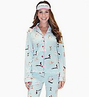 PJ Salvage Feeling Zen PJ Set with Eyemask RCPPPJ1