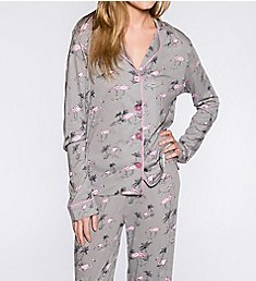 PJ Salvage Playful Prints Flamingo PJ Set RHPPPJ3