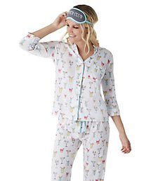 PJ Salvage Playful Prints Brunch Club PJ Set RJPPPJ1