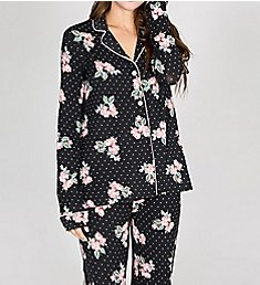 PJ Salvage Luxe Affairs Floral Dot PJ Set RKLUPJ1