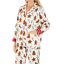 PJ Salvage Baking Spirits Bright Flannel PJ Set RVFLPJ2